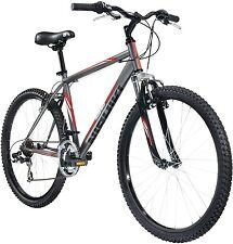"""Nishiki Erwachsenen Pueblo Mountainbike 22"""", gemacht von Hallo Zig. Stahl (grau/rot) (neu)"""