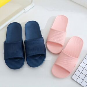 Home Slippers Bathroom Sandals Summer Anti-slip Shower Slides Women Shoes 36-45