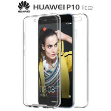 Funda Proteccion 360º Gel TPU Hibrida Transparente para Huawei P10 Lite