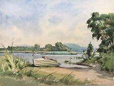 Am Behler Lago - 1953 Autografato - Motoscafo Barca Riva - Dadda Timmdorf Malent