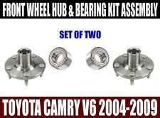 Toyota Camry 3.0L 3.3L 3.5L V6 Front Wheel Hub & Bearing Kit Assembly 2004-2009