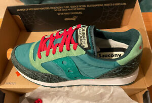 Saucony Super7 Creature From The Black Lagoon Ltd Ed Jazz Shoes Size M 9 W 10.5