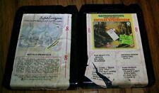 BUFFALO SPRINGFIELD - TWO 8 Track Tapes BUFFALO SPRINGFIELD & RETROSPECTIVE Fans
