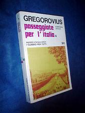Ferdinand Gregorovius passeggiate per CAMPANIA SICILIA