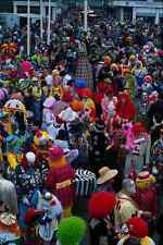 721014 Clowns Bognor Regis Sussex England A4 Photo Print
