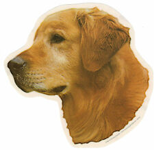 Golden Retriever Decal Sticker Dog Breed Transparent UV Resistant Plastic Film