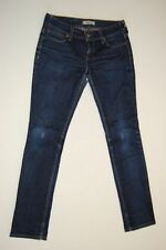 Levis 571 Slim Fit Jeans Hose Dunkelblau Stonewashed  W31 L32