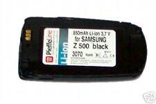 Per samsung z500 z 500 batteria a ioni di litio 850mAh NERA