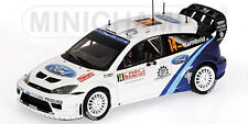 Ford Focus RS WRC 10ème Monte-Carlo 2005 p. Warmbold (400058414) 1/43 Minichamps
