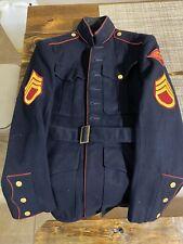 Us Marine Corps Dress blues Jacket Named