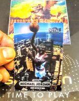 *RARE* 1997 Fleer Metal Universe MICHAEL JORDAN Lenticular SP 3D Custom #24/60