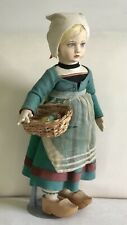 Lovely Well Loved Antique Lenci Dutch Girl 300 Series Doll 1930's