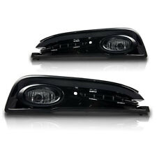 For 2013-2015 Honda Civic Sedan 4 Door Clear Lens Chrome Housing Fog Light Lamp