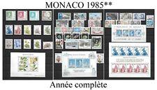 Timbres de MONACO année complète 1985**  *luxe*