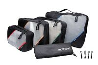 Motodori Packing Cubes 4pc Set With Bonus Shoe Bag And Extra Zipper Pulls ✈️