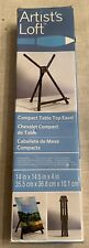 Artist's Loft Compact Table Top Easle