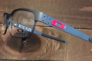 Oakley Metal Plate OX5038 Satin Light Steel 53mm