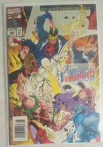 THE AVENGERS #362 COMIC A VISION REVEALED 30TH ANNIVERSARY CELEBRATION