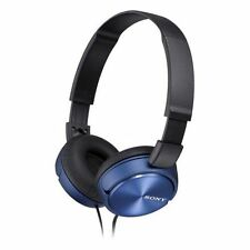 Sony MDR-ZX310 Foldable Headphones - Metallic Blue