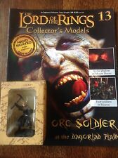 Eaglemoss. Lord Of The Rings Collectors Figure And Magazine. Orc Soldier.