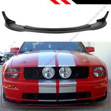 FOR 2005-09 FORD MUSTANG GT V8 CV 3 STYLE FRONT BUMPER LIP CHIN SPOILER SPLITTER