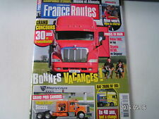 ** France Routes n°341 Magny Cours / Scania R730 / Volvo FMX / Motorhome