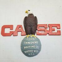 Case Threshing Machine Eagle Wall Mount