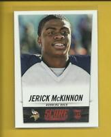 Jerick McKinnon RC 2014 Score Rookie Card # 384 Minnesota Vikings Football NFL