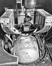 USAAF WW2 B-17 Bomber Nine-O-Nine Ball Turret #1 8x10 Photo 91st BG