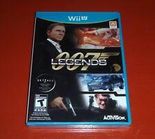 007 Legends (Nintendo Wii U, 2012) -New