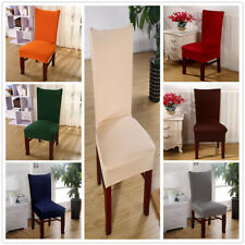 Chair Cover Seat Cover Dining Room Wedding Banquet Stretch Spandex Home Decor