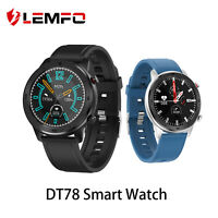 LEMFO DT78 Smart Watch blood pressure Heart Rate Monitor for Android ios phone