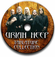 URIAH HEEP HEAVY PROGRESSIVE ROCK GUITAR TAB TABLATURE SONG BOOK SOFTWARE CD