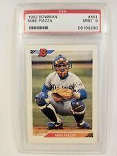 1992 Bowman Mike Piazza RC #461 PSA 9 Mint HOF Catcher