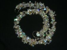 PartyLite 3' Dazzle Garland ~ Beaded ~ Pre-Owned Condition In Original Box