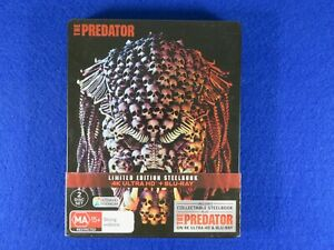 The Predator - 4K Ultra HD Steelbook - Free Postage !!