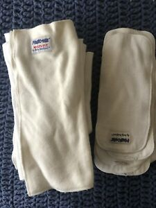Baby BeeHinds 15 Cloth Napy Inserts Boosters Some Hardly Worn And Some Well Worn