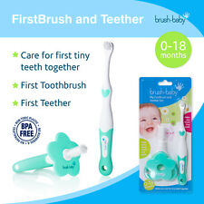Brush-Baby FirstBrush and Teether for Babies & Toddlers