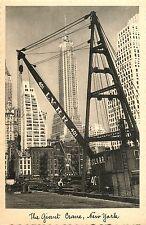 The Giant L.V.R.R. Crane at the Lehigh Valley Pier, Manhattan NY Jaffe PC #25