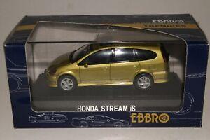 Ebbro Honda Stream iS Van, 1/43 Scale Boxed