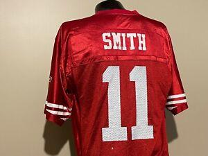 San Francisco 49ers Alex Smith #11 Football Jersey Reebok NFL Onfield Medium