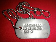 Vietnam War Military ID Dog Tag + Ball Chain ARVN Army Soldier Named DO TAN LOC