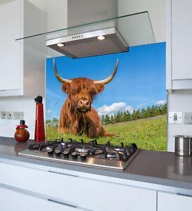 Printed Kitchen Glass Splashback - Toughened & Heat Resistant Cooker Panel 1123