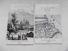 The Trade And Shipping Of Hull - 2 Books By Joyce Bellamy & Ralph Davis S/Covers