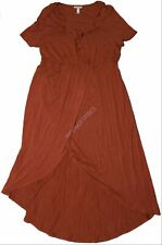 New Women's Maternity Clothes Target Clothes Marsala Ruffle Dress NWT Size M