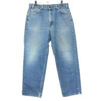 Levi's VINTAGE Orange Tab 550 Jeans Mens 36 x 29 Relaxed Fit Medium Wash USA