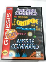 Arcade Classics - Sega Genesis Game COMPLETE CIB Tested + Working!