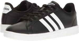 adidas Cloudfoam Advantage Black Sneakers for Men for Sale ...