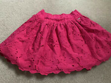 GILLY HICKS XS FUSXHIA GATHERED SHORT SKIRT 3 Layers Cut Out Top Layer