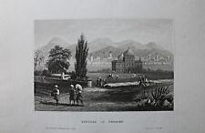 Persien, Iran - Ansicht von Schiras - Original Stahlstich 1850